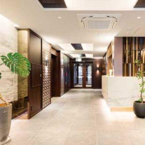自主隔離ホテル-大阪2-10 ロビー