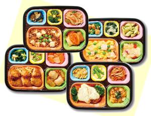 3 meals service