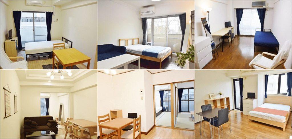 家具付きマンション例の写真6枚
