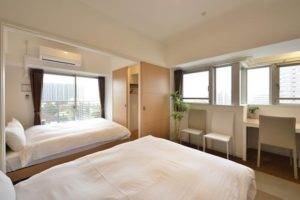 自主隔離ホテル-福岡-4 客室